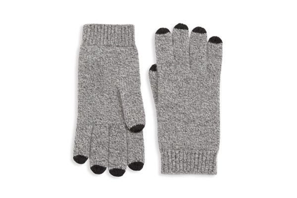 Saks Fifth Avenue COLLECTION Cashmere Tech Gloves