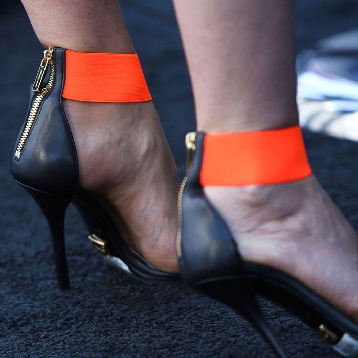 Gwyneth Paltrow's feet.