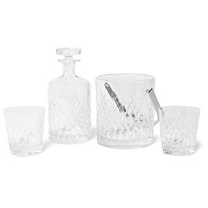 Soho Home Barwell Cut Crystal Set