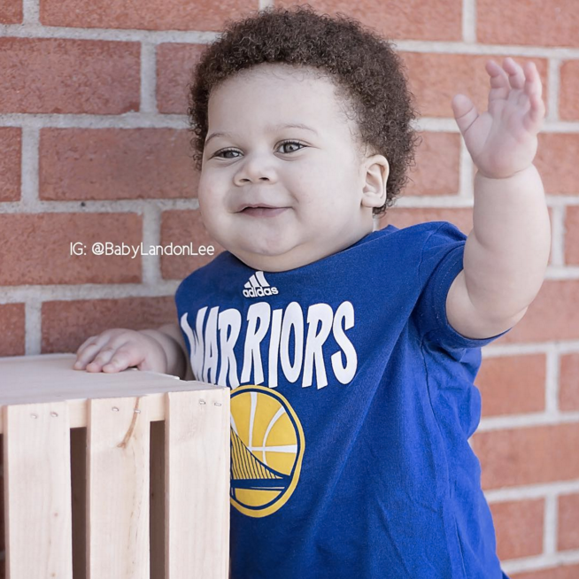 9d94a7545720 I Cannot Stop Looking at This Baby Version of Steph Curry