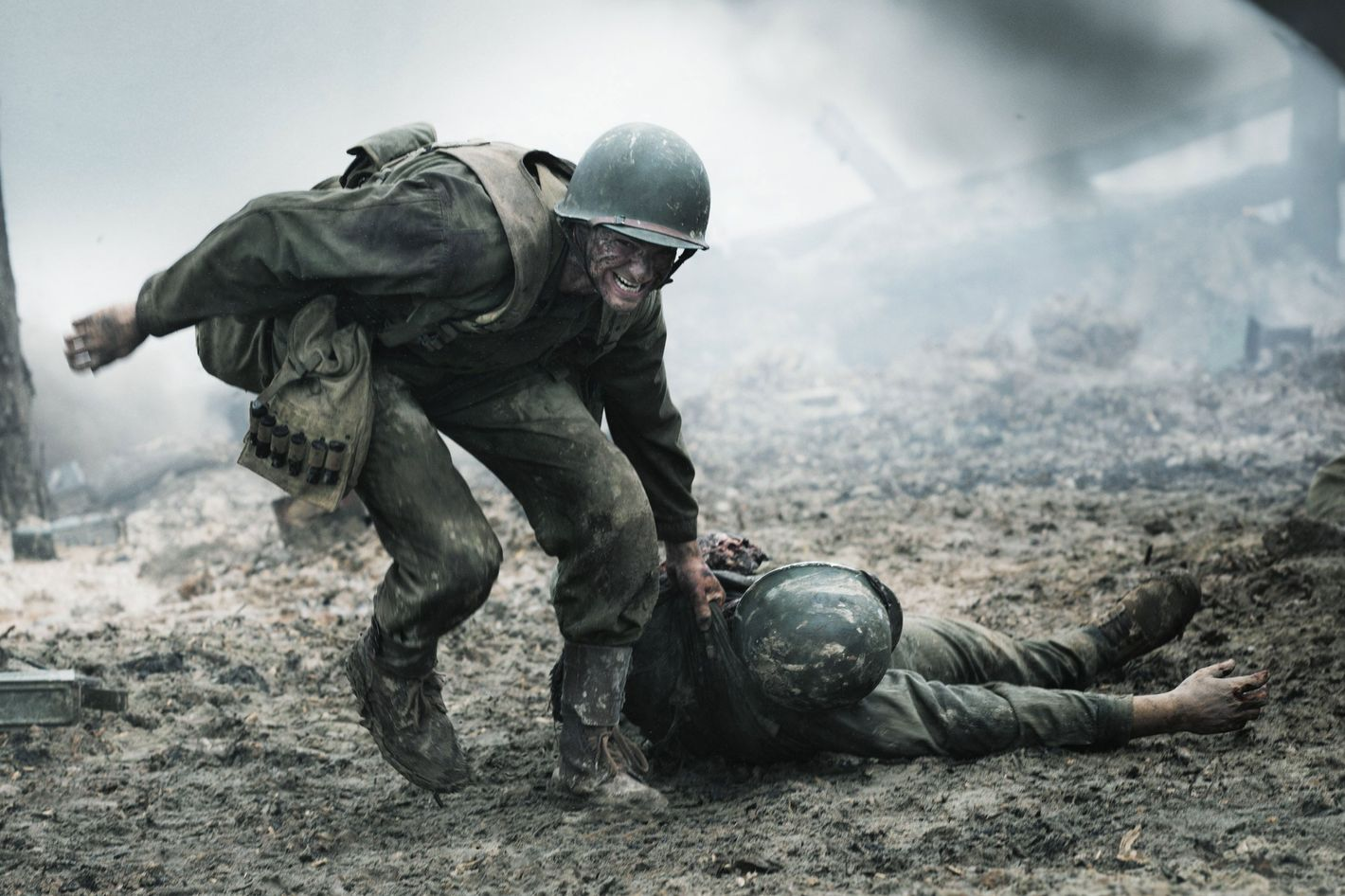The Production Designer Of Hacksaw Ridge Describes How They Pulled Off That Battle Scene