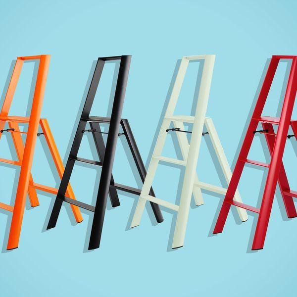 Hasegawa Lucano 3-Step Aluminum Ladder