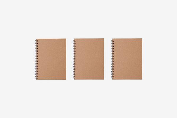 Muji Double Ring Notebook A5