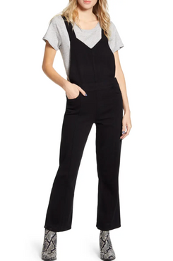 Paige Atley Crop Flare Overalls