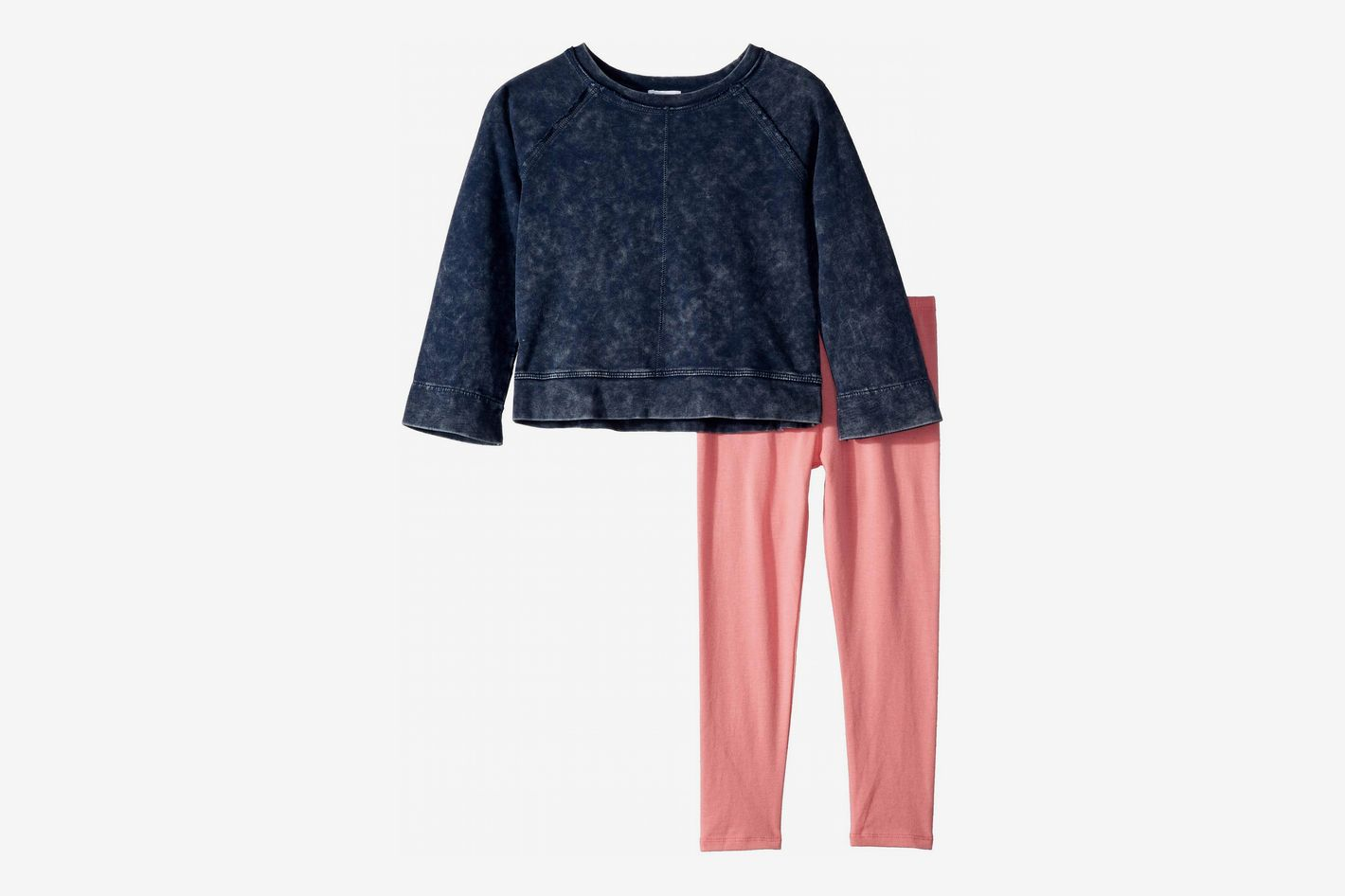 Splendid Littles Baby French Terry Mineral Wash Top Set