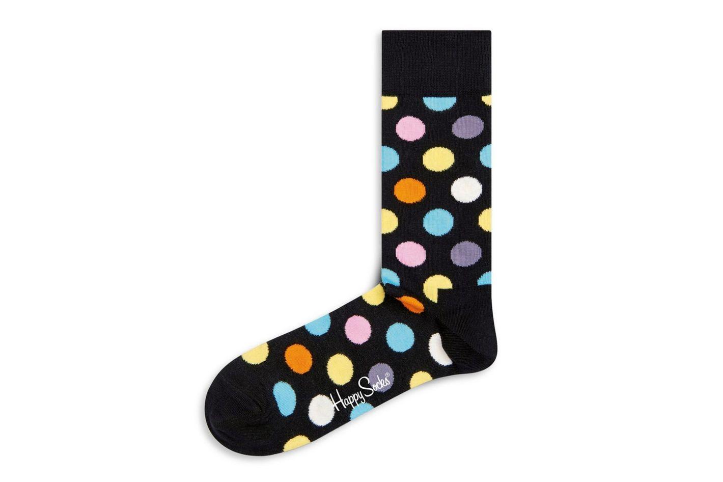Happy Socks Multicolored Polka Dot Socks