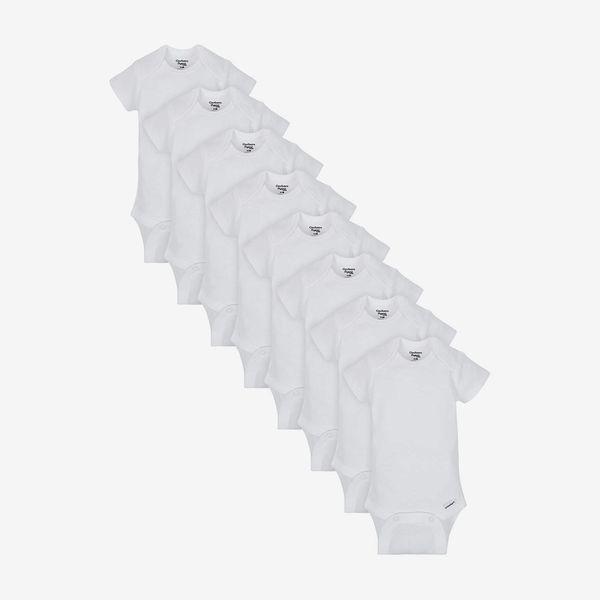Gerber Short Sleeve Onesies, 8-Pack