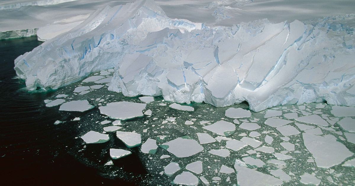 ice melting in antarctica A large section of the mighty west antarctica ice sheet has begun falling apart and its continued melting now appears to be unstoppable, two groups of scientists reported on monday if the findings hold up, they suggest that the melting could destabilize neighboring parts of the ice sheet and a rise.