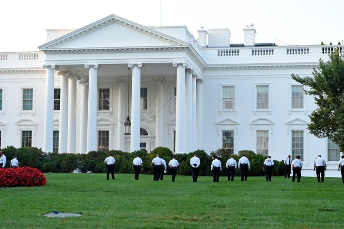 Fence Jumping Intruder Made It All The Way Into The White House