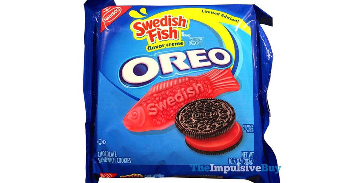 nabisco unveils swedish fish oreos