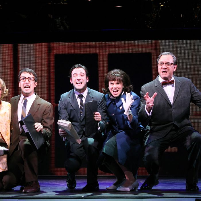 Merrily We Roll Along at the New York City Center .