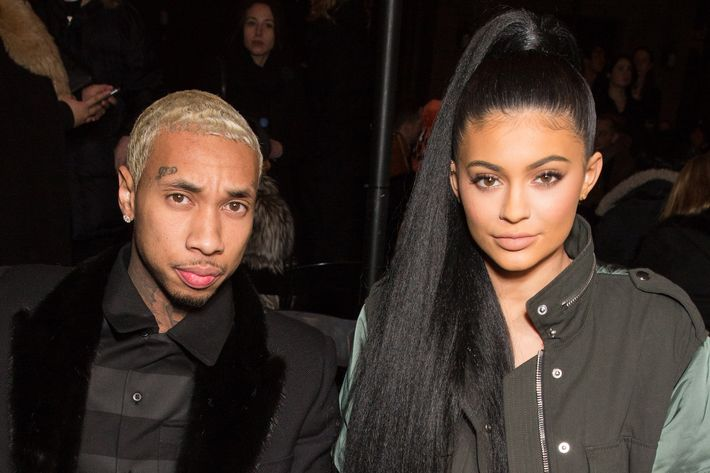 Tyga and Kylie.