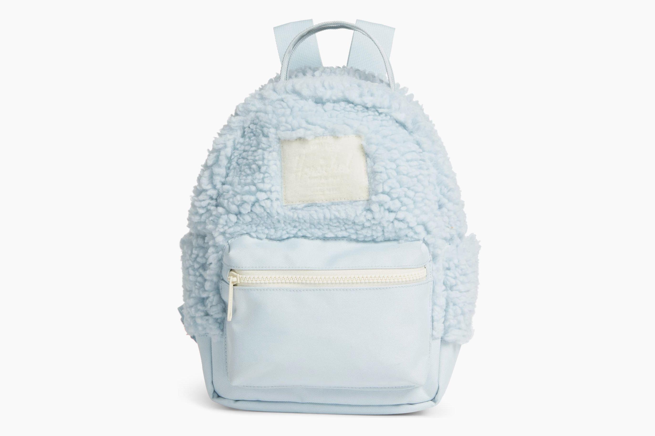 Herschel Supply Co. Mini Nova Fleece & Canvas Backpack