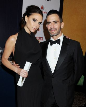 Victoria Beckham & Marc Jacobs.