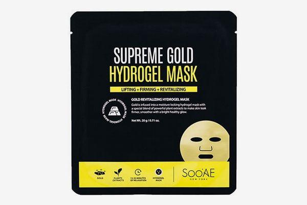 Soo'Ae Supreme Gold Hydrogel Mask
