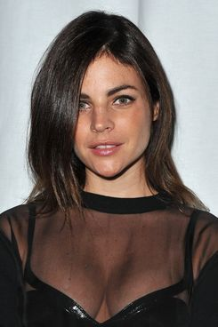 Julia Restoin Roitfeld attends the Givenchy Ready to Wear Spring/Summer 2012 show during Paris Fashion Week.