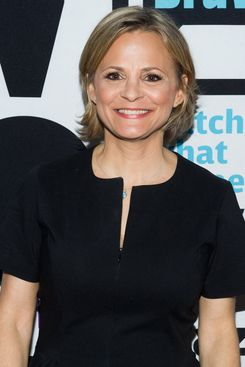 WATCH WHAT HAPPENS LIVE -- Pictured: Amy Sedaris -- (Photo by: Charles Sykes/Bravo/NBCU Photo Bank via Getty Images)