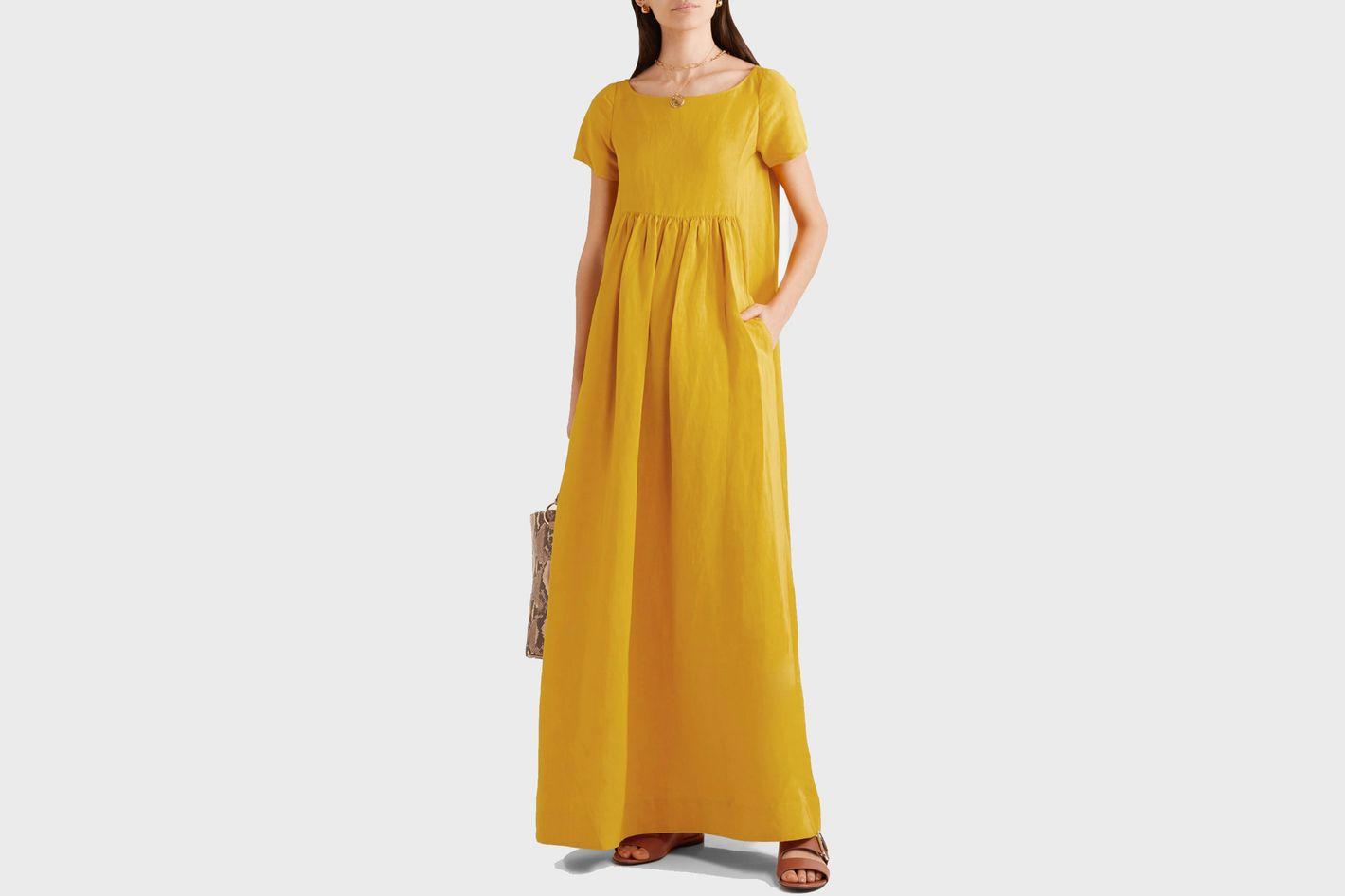 Co Oversized Woven Dress