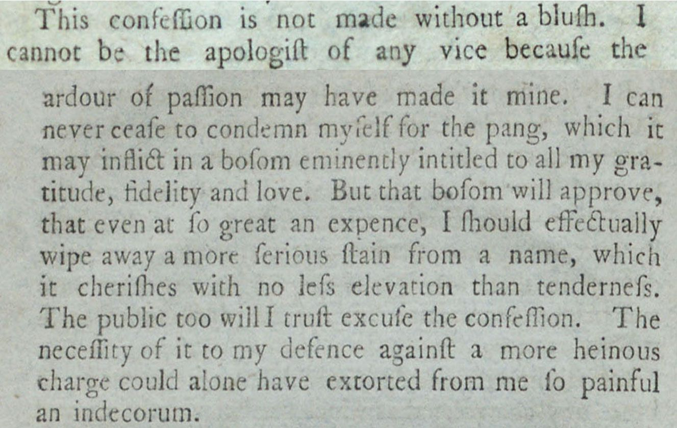 read the actual reynolds pamphlet from hamilton page by original page