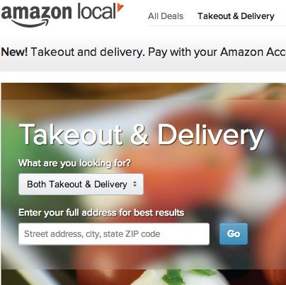 One-click meal shopping.