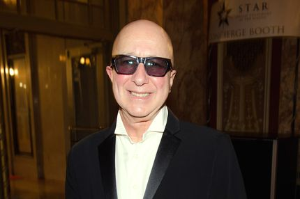Paul Shaffer attends the official Blues Brothers Revue at the Rialto Theater on March 5, 2012 in Joliet, Illinois.