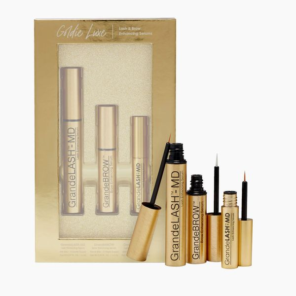 Grande Cosmetics Goldie Luxe Lash and Brow Serum Set