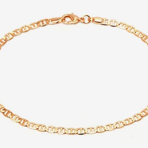 Barzel Gold Anklet