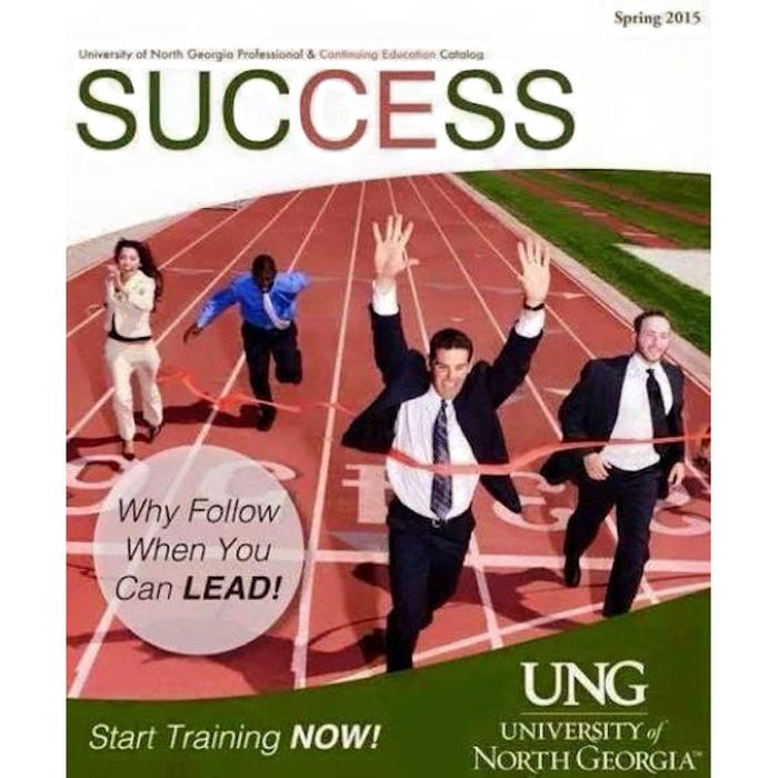 Much Of White America Is Perfectly >> University Catalogue Cover Accidentally Becomes Perfect Metaphor For