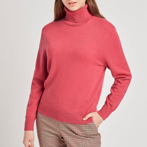 Uniqlo Women's Cashmere Turtleneck Sweater