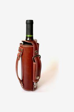 Leather Wine-Bottle Holder