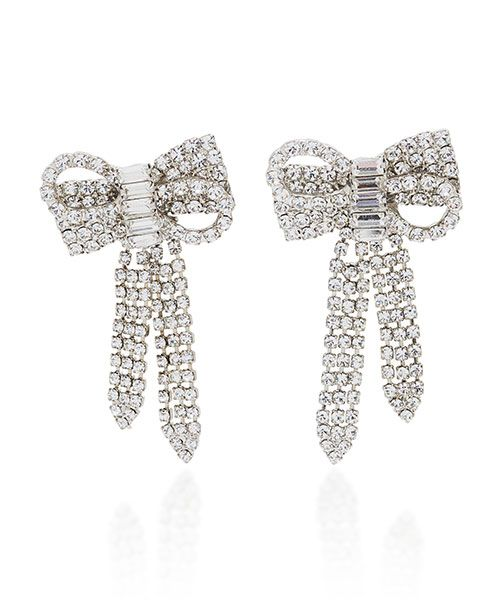 Jennifer Behr Lola Swarovski Crystal Silver-Tone Stud Earrings