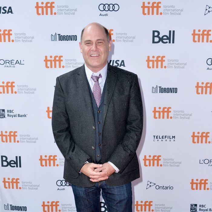 TORONTO, ON - SEPTEMBER 07: Director Matthew Weiner attends the