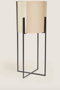 Tall Metal Planter with Stand