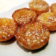 Pastéis de Nata (Portuguese custard cakes).
