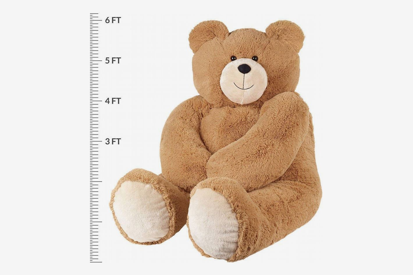 Vermont Teddy Bear - Giant Teddy Bear, 6 Feet Tall, Brown