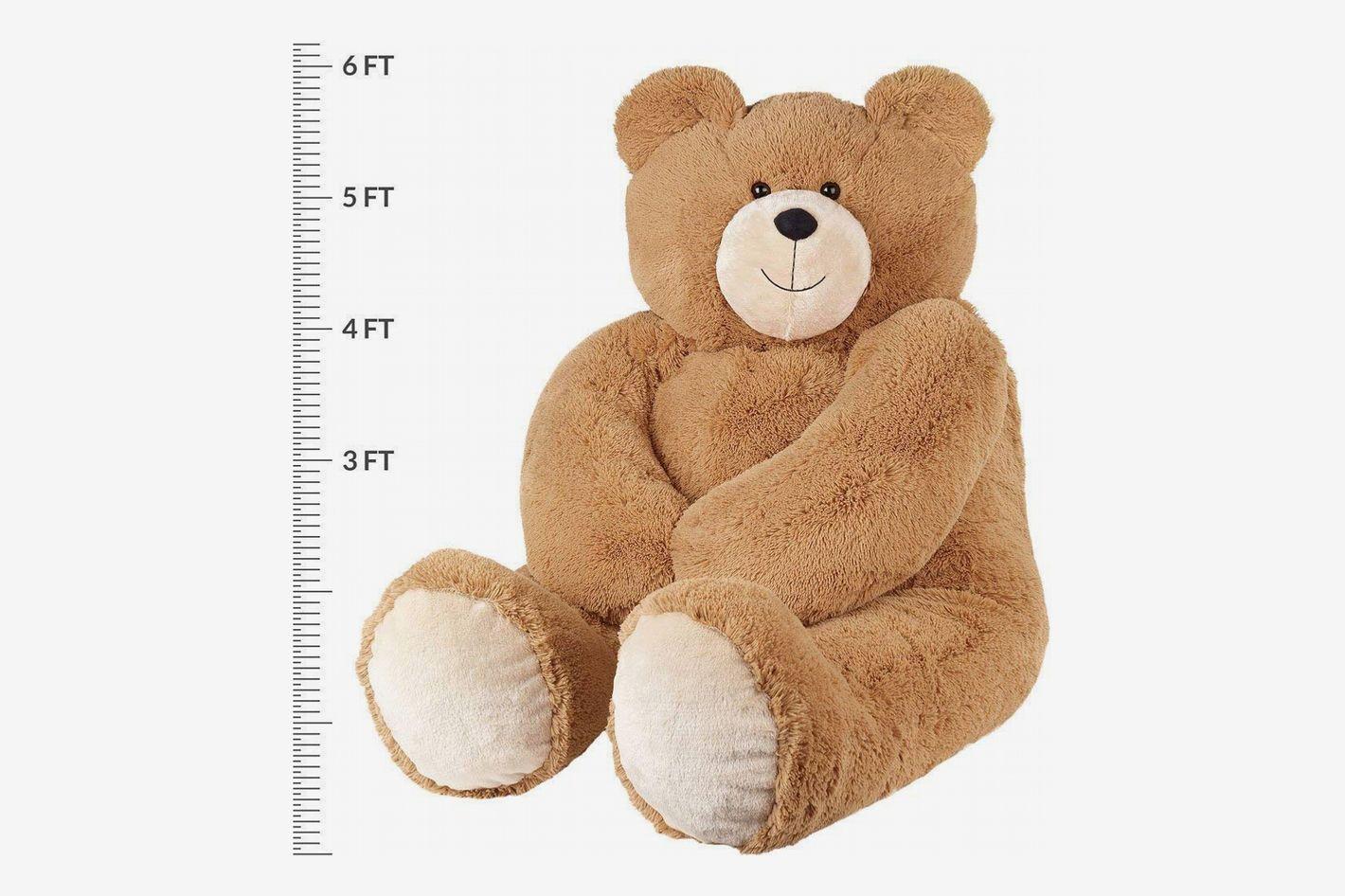 Vermont Teddy Bear - Giant Teddy Bear, 6 Feet Tall, Brown