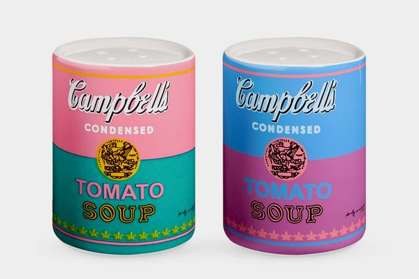 Andy Warhol Soup Cans Salt & Pepper Shakers