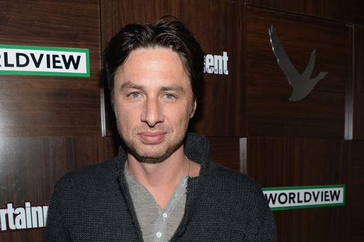 "Actor Zach Braff attends the GREY GOOSE Blue Door Hosts ""Wish I Was Here"" Dinner on January 18, 2014 in Park City, Utah."