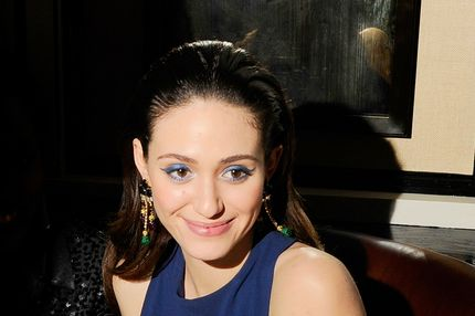 "Emmy Rossum==THE CINEMA SOCIETY & DIOR BEAUTY host the after party for ""BEAUTIFUL CREATURES""==Cole's Greenwich Village, NYC==February 11, 2013=="