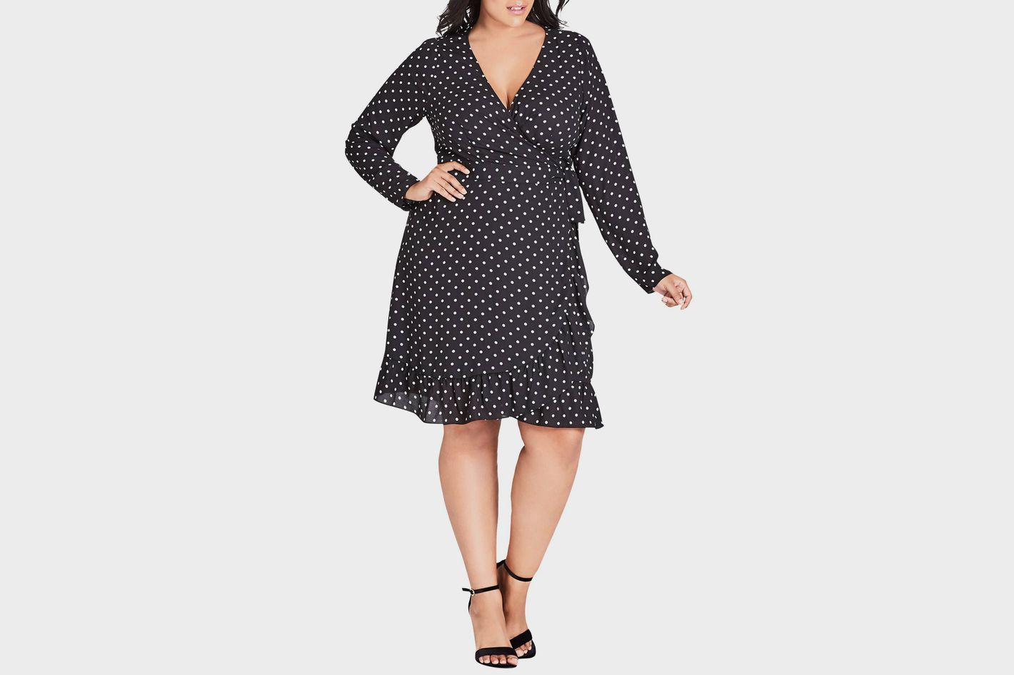 d42d6a396948b 25 Wrap Dresses You Can Wear to Work