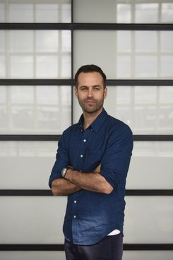 French dancer and choreographer, Benjamin Millepied, poses on May 9, 2014 in Paris.