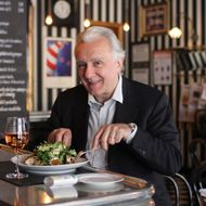 Ducasse knows parcooked food when he sees it.