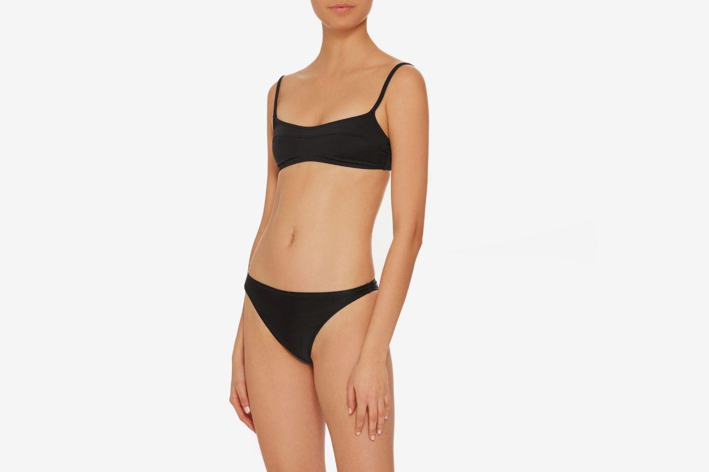 Solid & Striped Swim Team 2018 The Elsa Bikini Top
