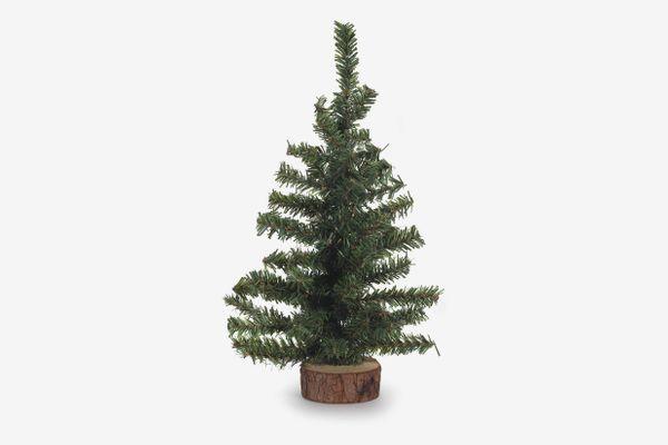 Darice Canadian Pine Tree with Wood Base