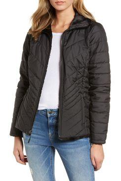 The North Face Mossbud Reversible Heatseeker Wind-Resistant Jacket