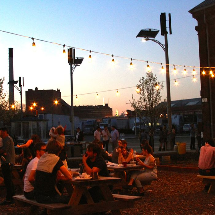 Head to the Navy Yard on Friday night or Saturday afternoon.