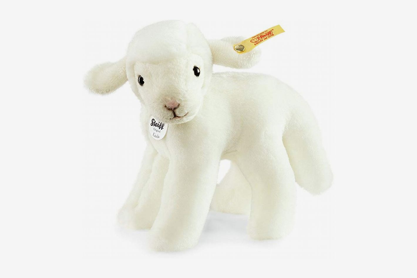 Steiff Linda Lamb Plush, White