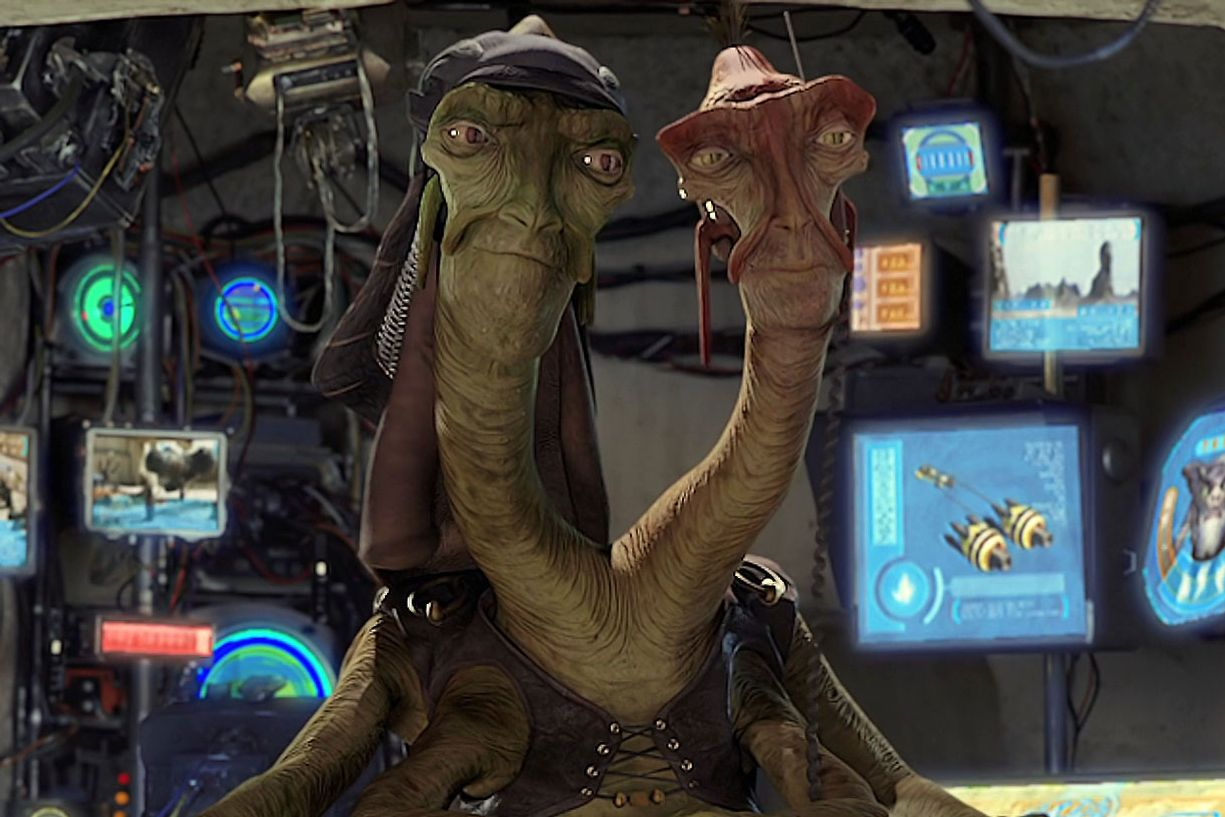 Every Cgi Character In The Star Wars Prequels Ranked