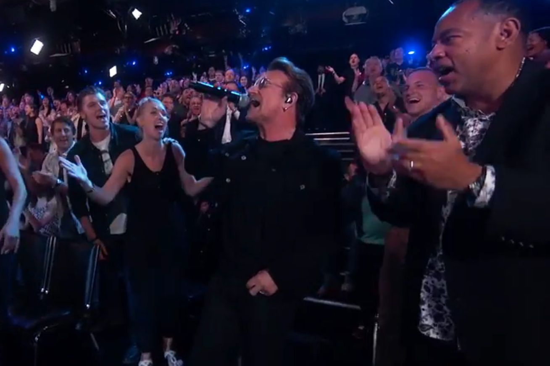 U2 Took Over Jimmy Kimmel\'s Show Last Night