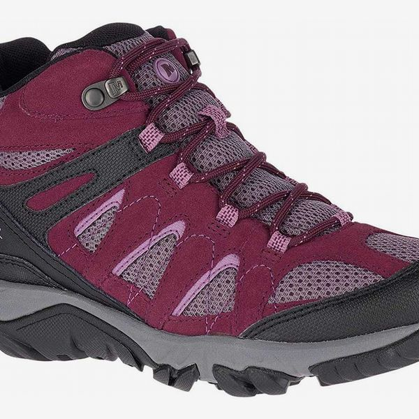 Merrell Ladies Ankle Boots Outmost Mid Vent GTX J41070